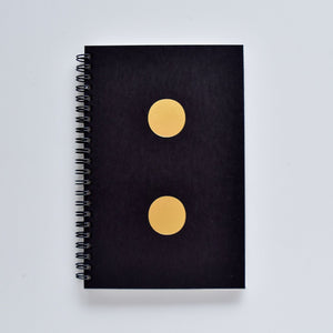Spiral Notebook - Semicolon Cover - KaRiniTi