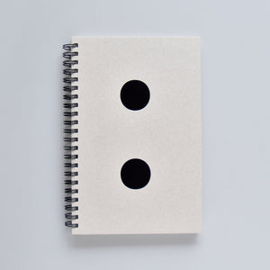 Spiral Notebook - Semicolon Cover