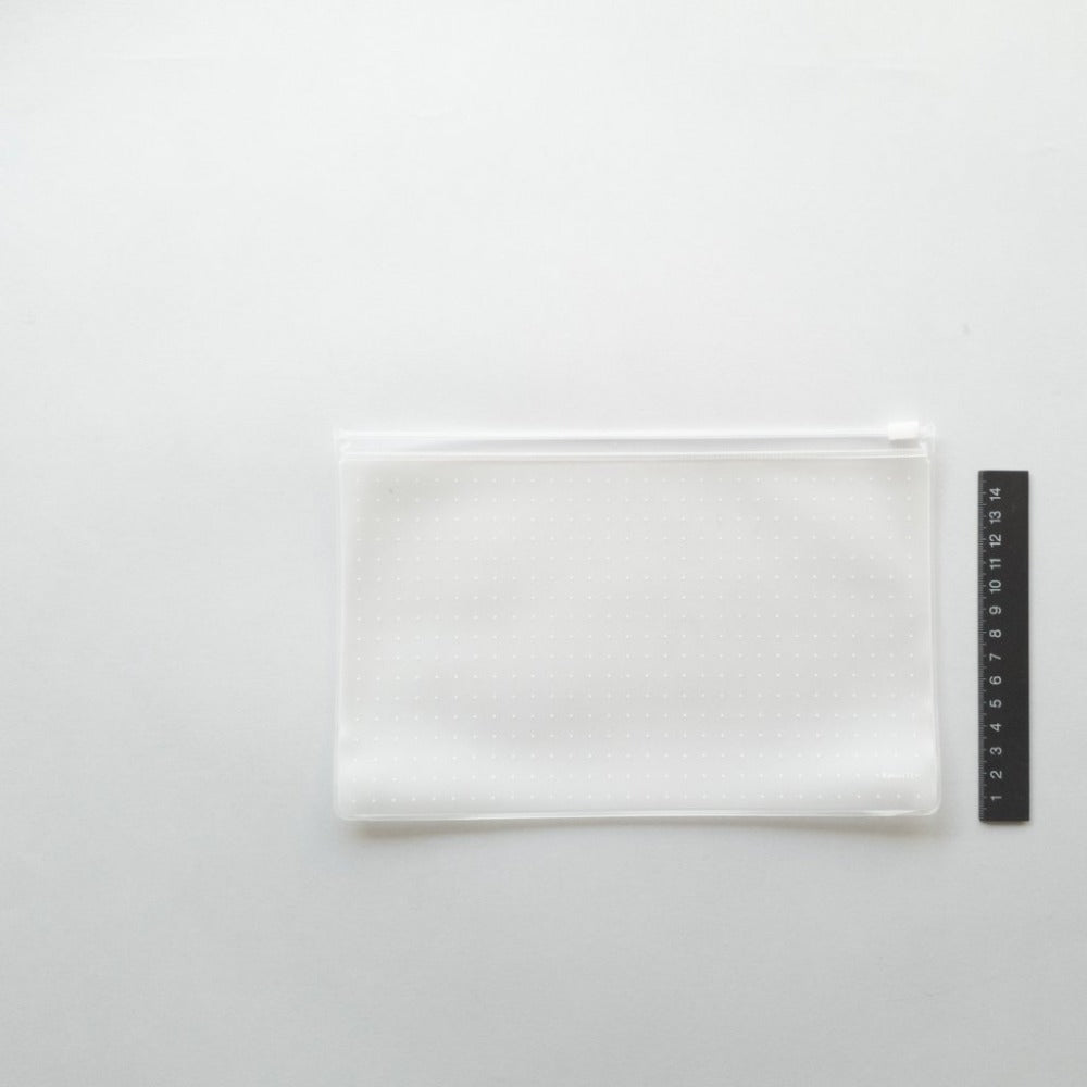 KaRiniTi - Transparent Zip Case - Medium