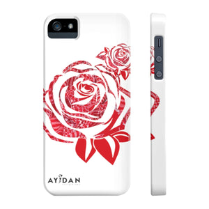 Ayidan Collections Rose Case Mate Slim Phone Cases