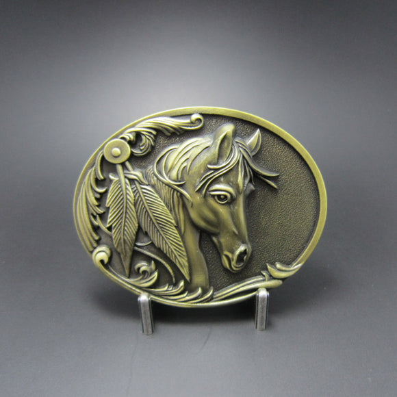 Belt Buckle - Horse Head