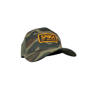 canvas trucker cap camo