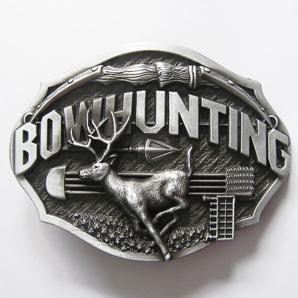 Belt Buckle - Bowhunting