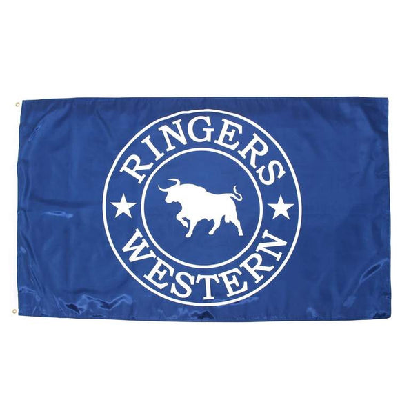 Ringers Western Signature Flag Royal