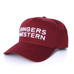 Channel Baseball Cap Burgund