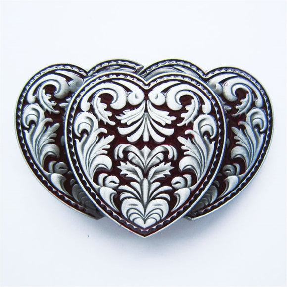 Heart Belt Buckle.