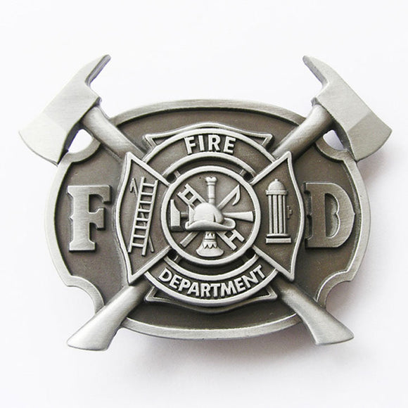 Belt Buckle - Fire Fighter.