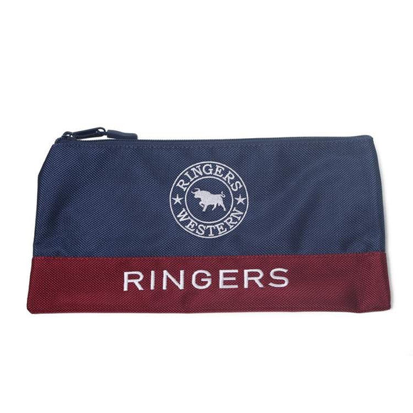 Ringers Western - Walkabout Pencil Case Navy Burgundy