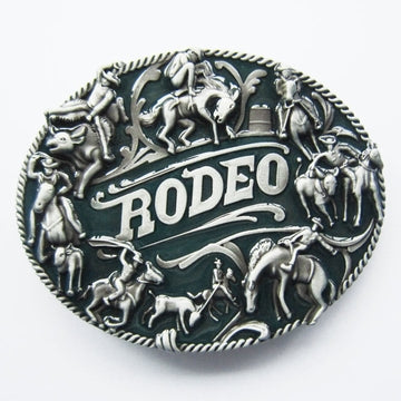 Belt Buckle - Rodeo Riders