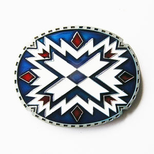 Belt Buckle - Aztec