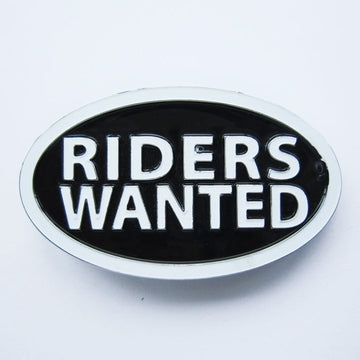 Riders wanted.