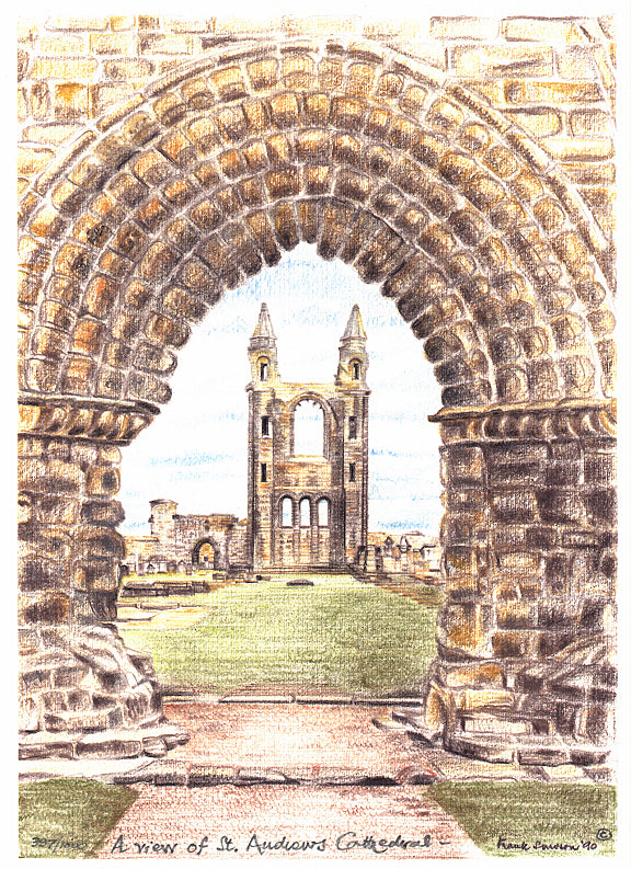Frank Sproson 'A View of St. Andrews Cathedral'