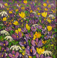 Elena Guillaumin 'Purple Crocuses'