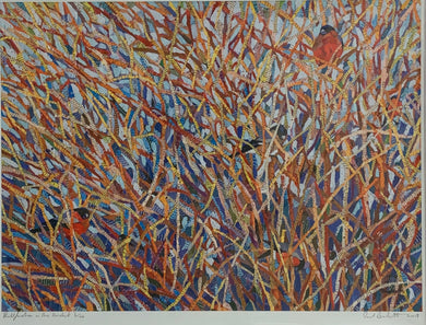 Paul Bartlett 'Bullfinches in the Thicket'