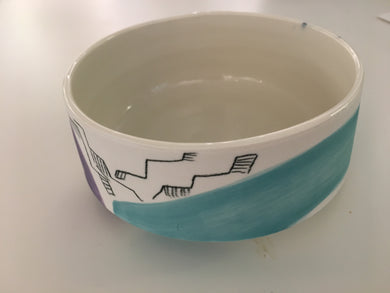 Sarah Koetsier Ceramics 'Medium Brush Pot'