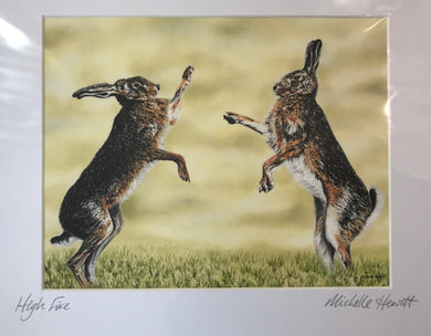 Michelle Hewitt 'High Five'