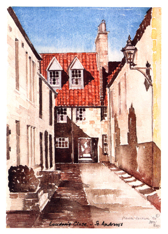 Frank Sproson 'Louden's Close, St. Andrews'