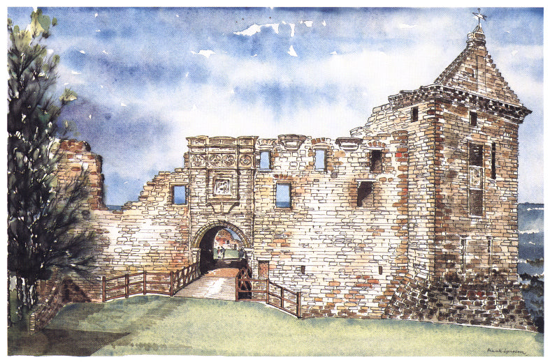 Frank Sproson 'South Entrance of Castle, St. Andrews'