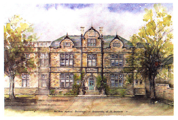 Frank Sproson 'The Bute Medical Buildings, University of St. Andrews'