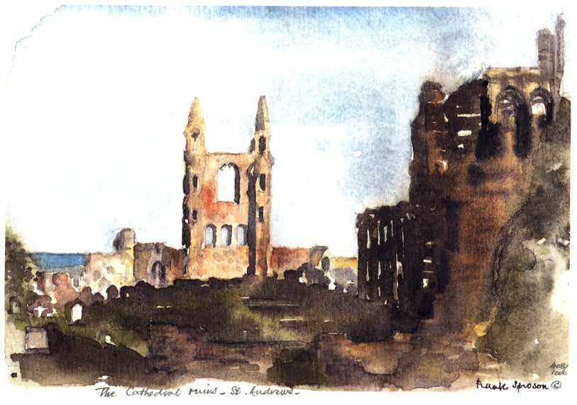 Frank Sproson 'The Cathedral Ruins, St. Andrews'