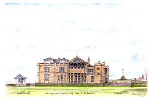 Frank Sproson 'The Royal and Ancient Golf Club of St. Andrews'