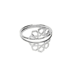 hak the label ibti  ring in silver