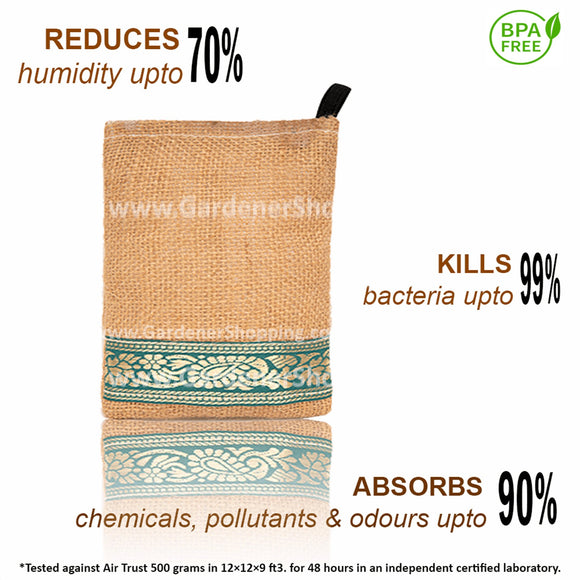 Natural Air Purifier- (Non Electric Air Purifier Deodorizer and Dehumidifier)