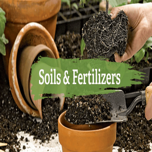 Soil & fertilizers