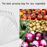 Gardener Shopping Poly Grow Bags For Plants (10 SMALL POLY GROW BAGS)- SIZE 3