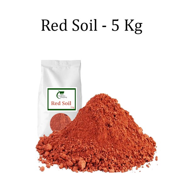 RED SOIL- 5 KGS - Gardenershopping