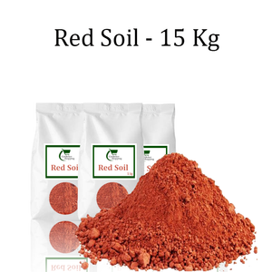 Gardener Shopping Red Soil - 15 Kg (Buy Red Soil Online India)