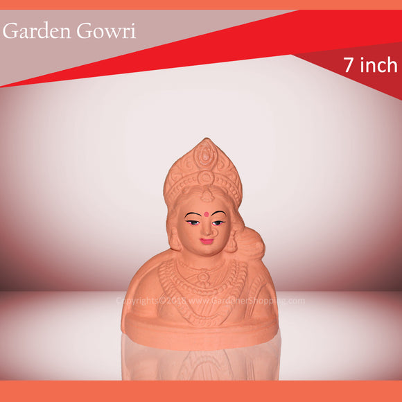 Eco-Friendly Gowri Idol (7 INCH GARDEN GOWRI) - Gardenershopping