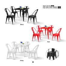 Metal Dining Set-T18+CD1