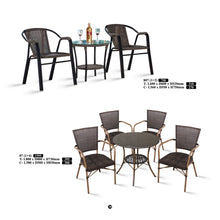M&N - Outdoor Garden Set - Round - 807(1+2)