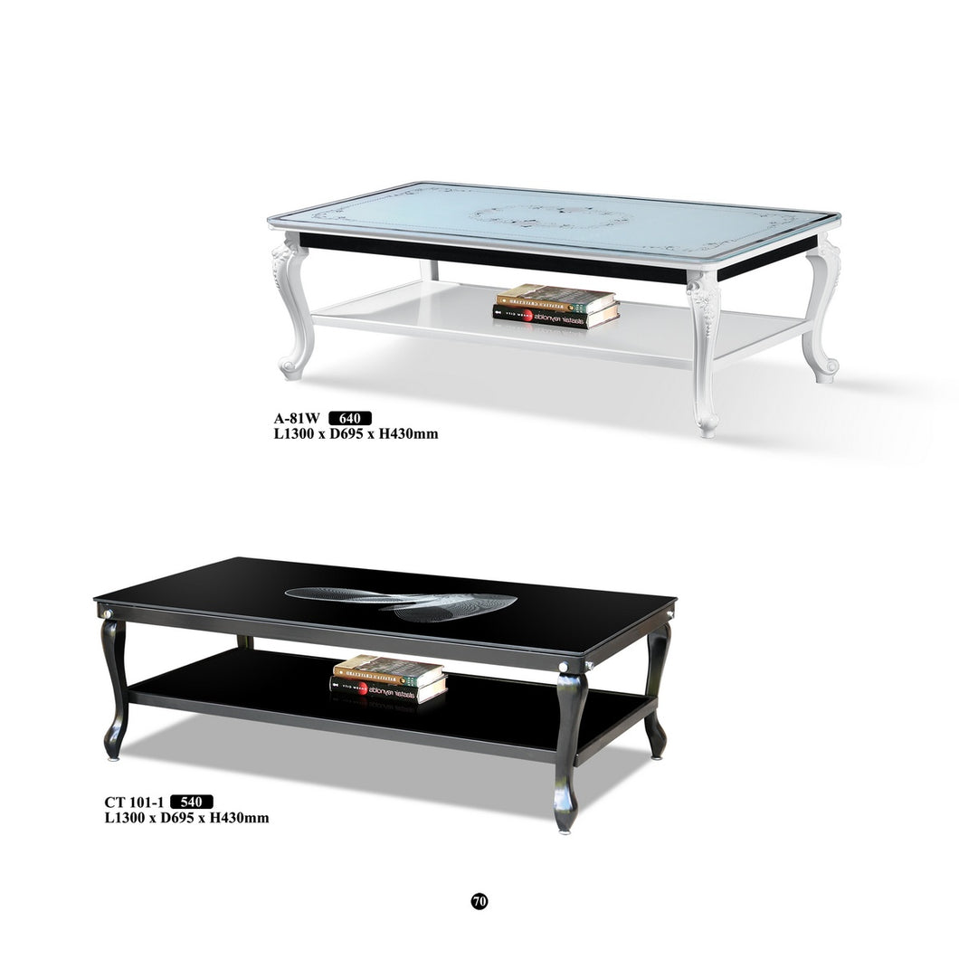 M&N - Coffee Table - Rectangle - A-81W or CT-101-1