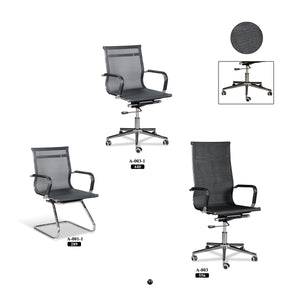Office Chair - A-Series - Black