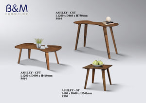 Wood Side Table - ASHLEY - ST