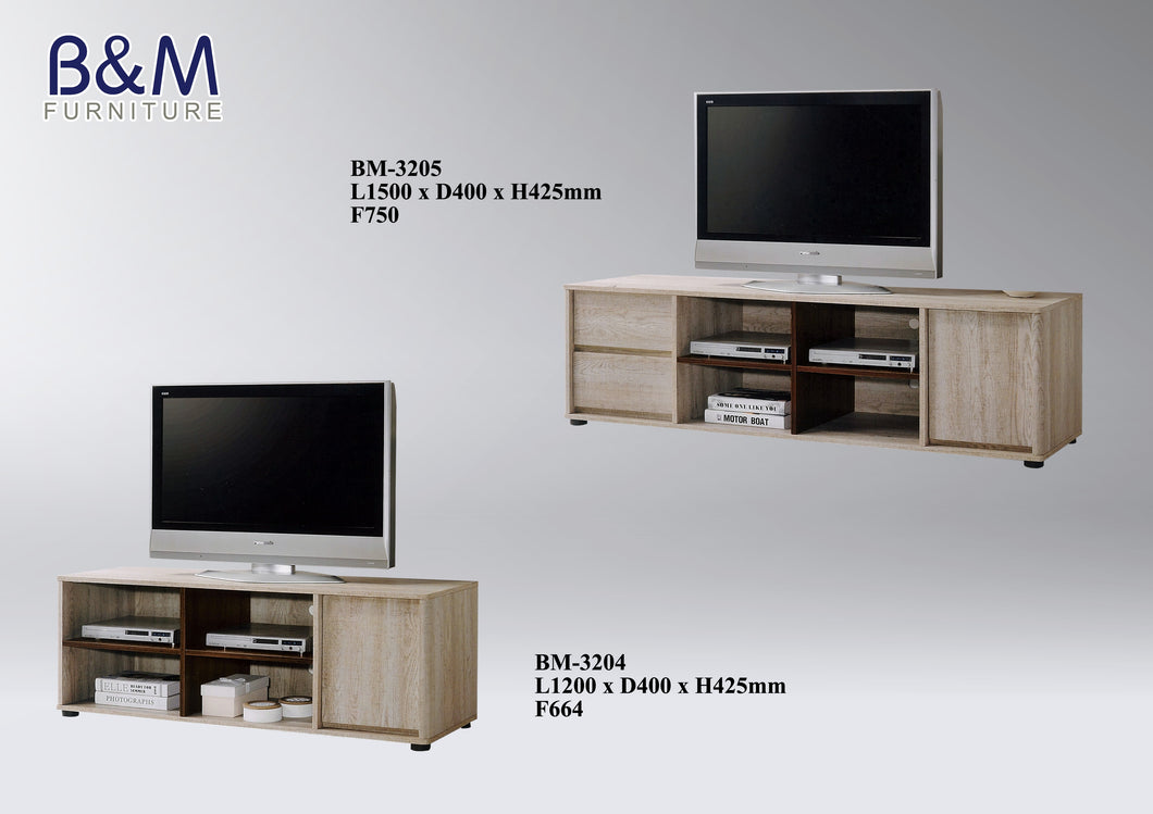 Wood - TV Cabinet Collection - Oak