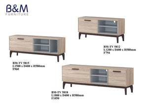 Wood - TV Cabinet Collection - Oak 2