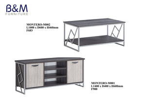 Metal - Living Hall Cabinet Collection - MONTERO - 1
