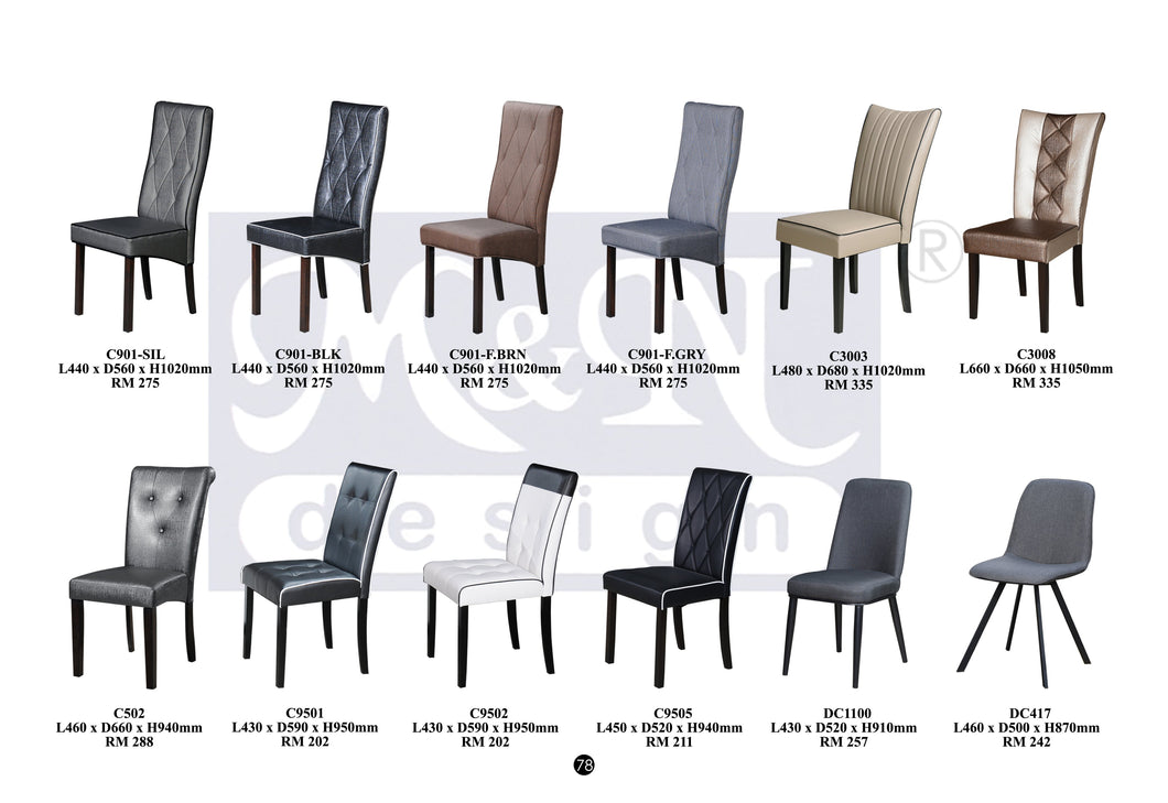 Dining Chairs supplier in Malaysia by M&N Furniture Trading Sdn Bhd