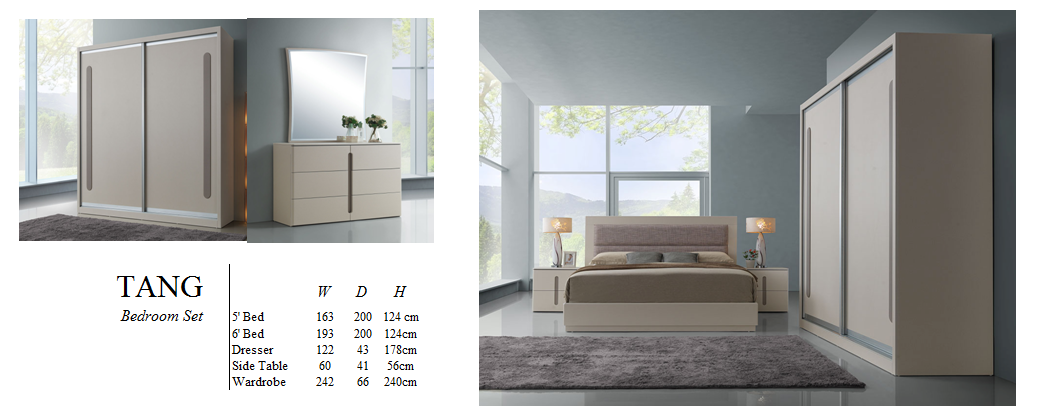 Bedroom Set - Alto AX1 Series - TANG