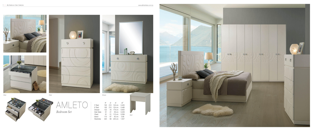 Bedroom Set - Alto AX2 Series - AMLETO