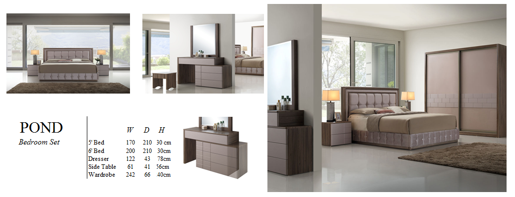 Bedroom Set - Alto AX2 Series - POND
