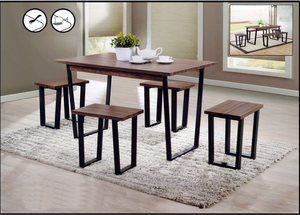 Kenitti Sofa Design Premium Store-Wood Dining Table Set