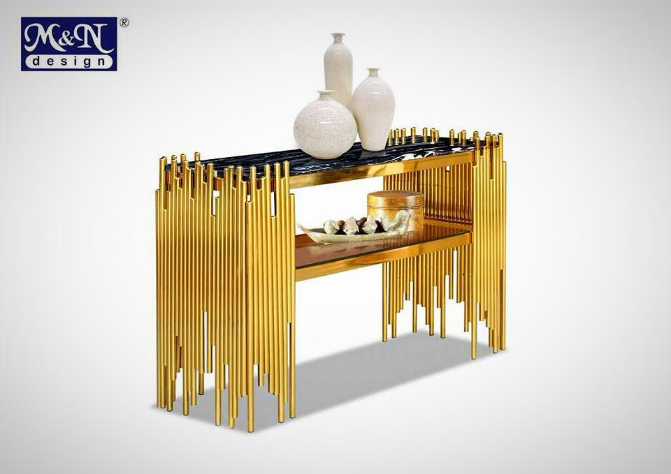 Ferrero Gold Collection - Console Table - KY87