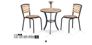 M&N - Outdoor Garden Set - Round - S-T03-S-C03(1+2)
