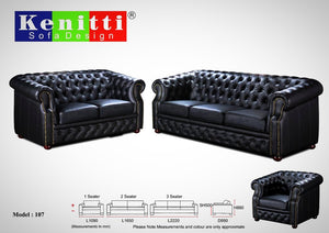 Kenitti sofa- Contemporary design to suit your space & style