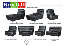 Kenitti Sofa - Corner Mix & Match Series - 116 (C+F+E+G+A)