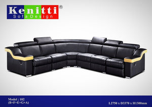 Kenitti sofa-sectional mix & match to suit your space & style
